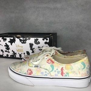 Rare Vans Disney The Little Mermaid Canvas Shoes
